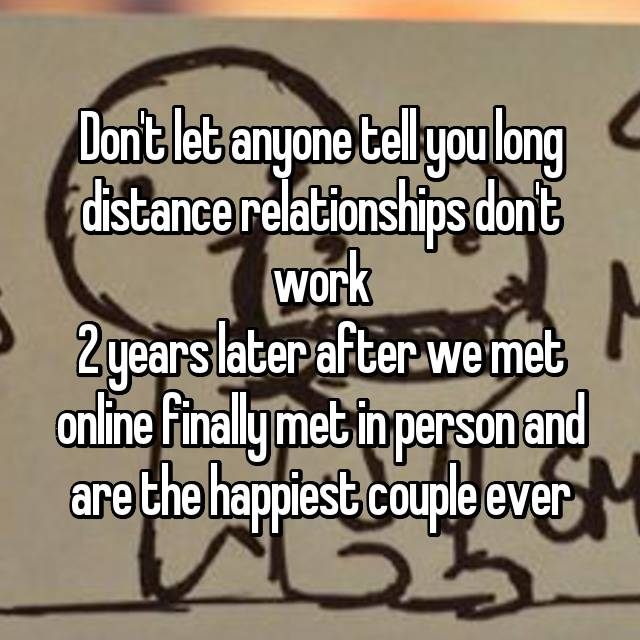 Online dating how long before meeting in person