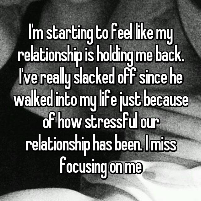 what is a relationship supposed to feel like