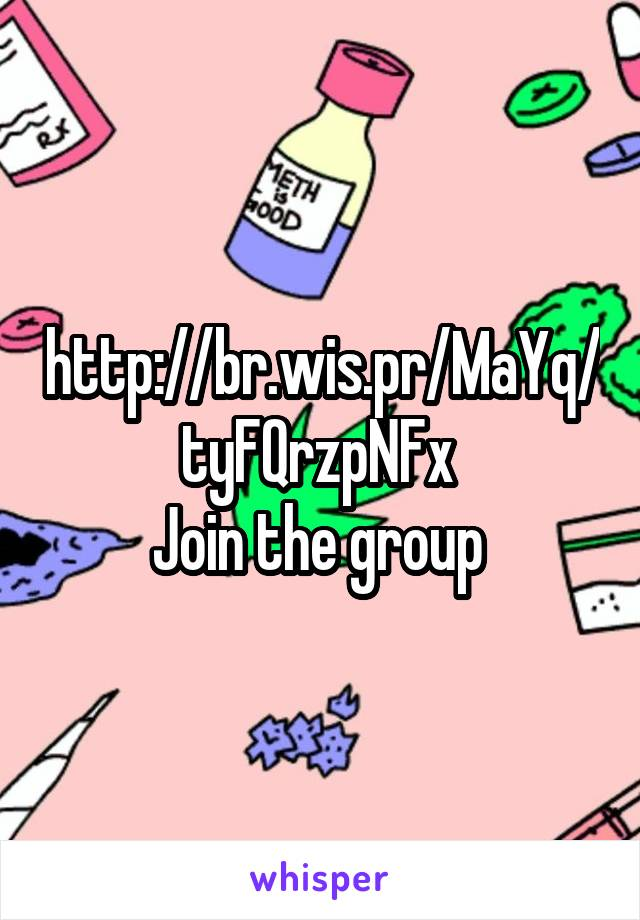 http://br.wis.pr/MaYq/tyFQrzpNFx  Join the group