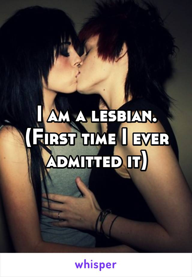 Lesbians making love for the first time