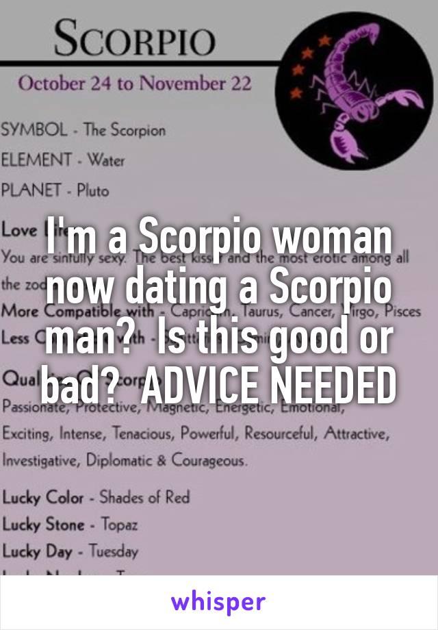 scorpio man scorpio woman dating