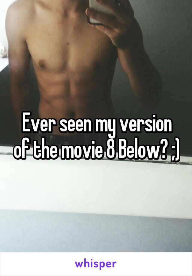 Ever seen my version of the movie 8 Below? ;)