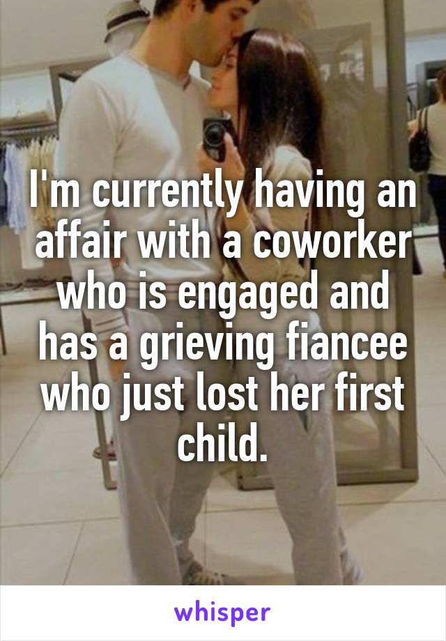having an affair with a coworker
