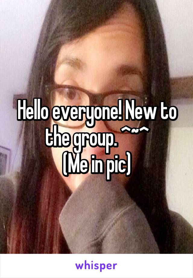 Hello everyone! New to the group. ^~^ (Me in pic)