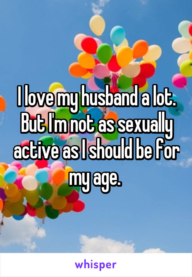 Why is my husband not sexually active