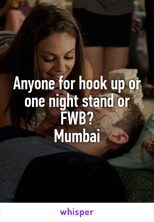 Hook up vs one night stand