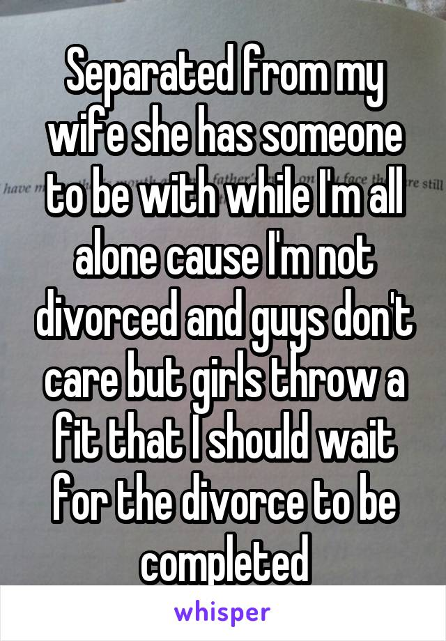 My wife divorced me without me knowing
