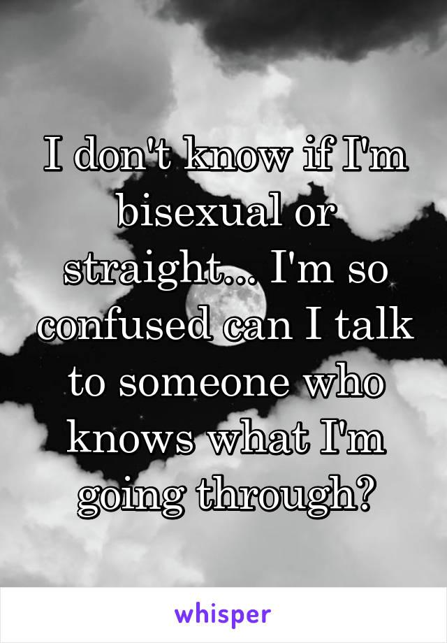 How do i know if im bi sexual