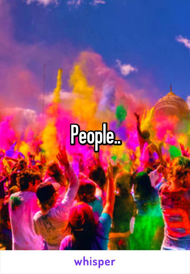 People..