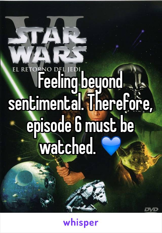 Feeling beyond sentimental. Therefore, episode 6 must be watched. 💙