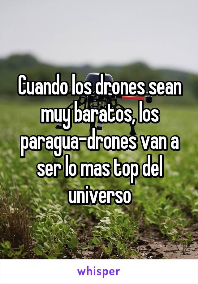 Cuando los drones sean muy baratos, los paragua-drones van a ser lo mas top del universo