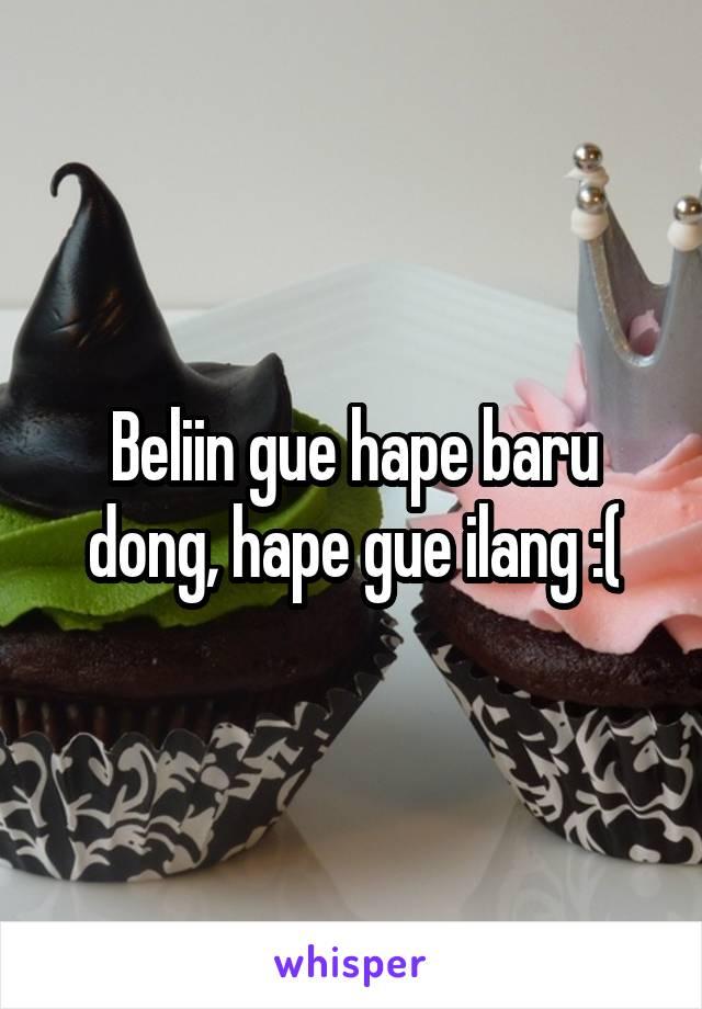 Beliin gue hape baru dong, hape gue ilang :(