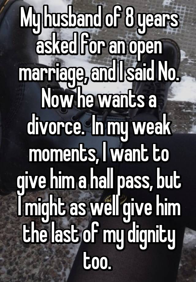 do open marriages last