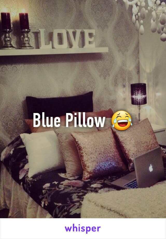Blue Pillow 😂