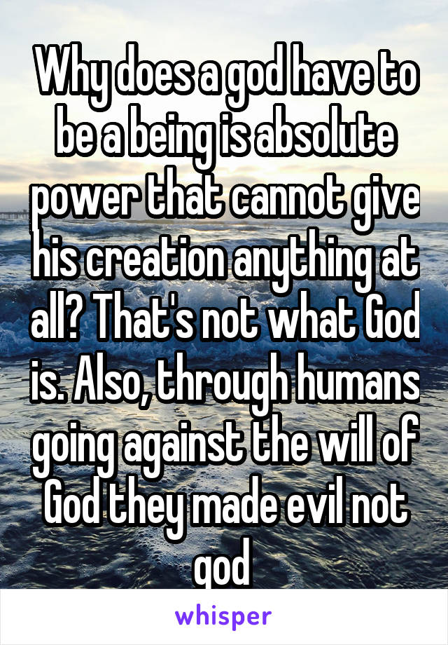 what is absolute power