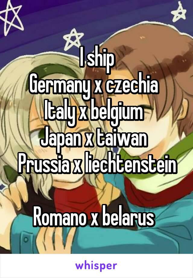 Germany x italy x prussia