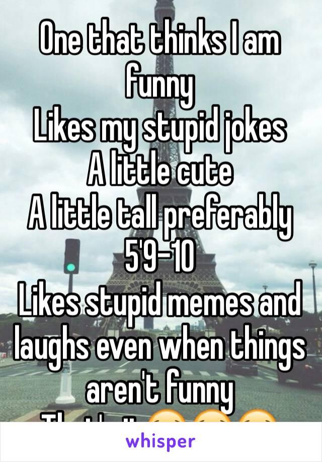 stupid cute jokes