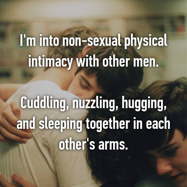 Nonsexual physical intimacy