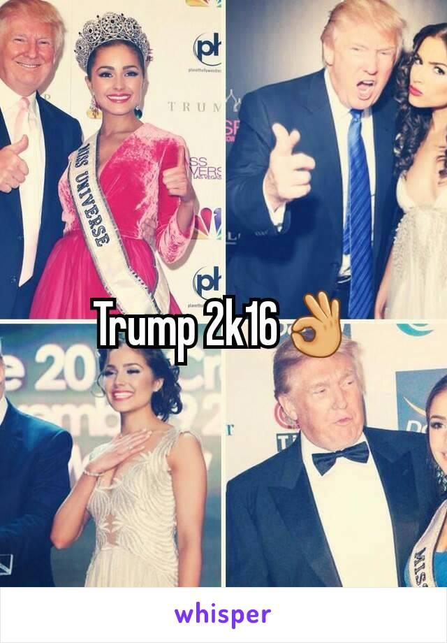 Trump 2k16👌