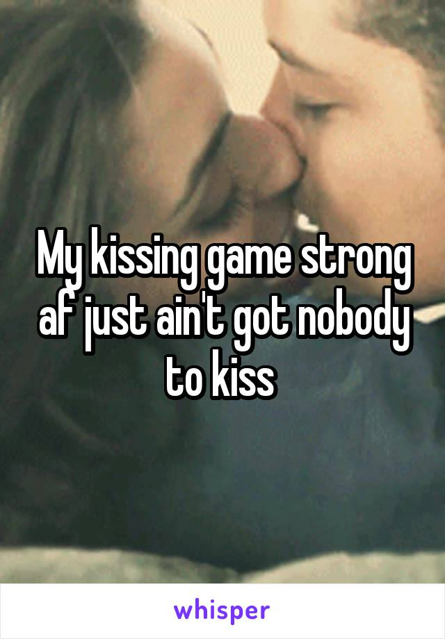 Dating kissing game