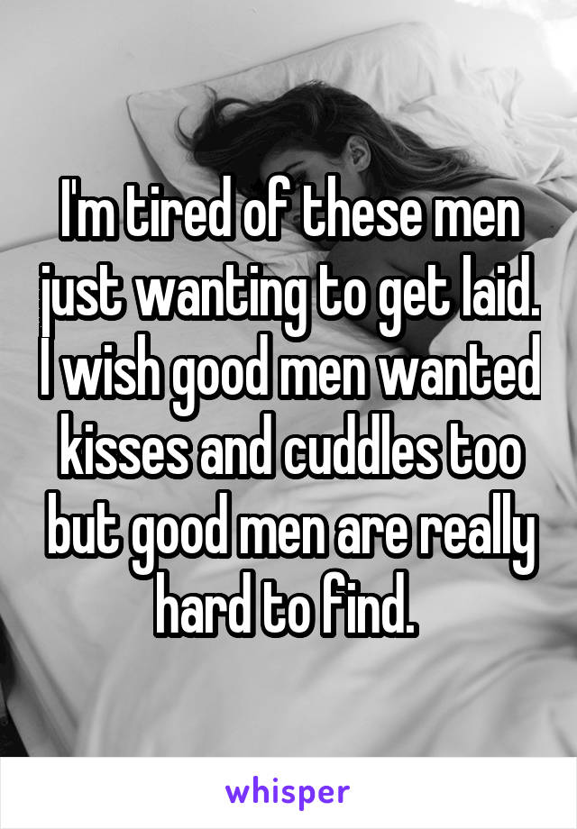 Wanting to get laid