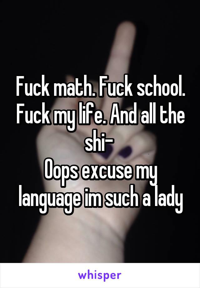 Fucking im lady such