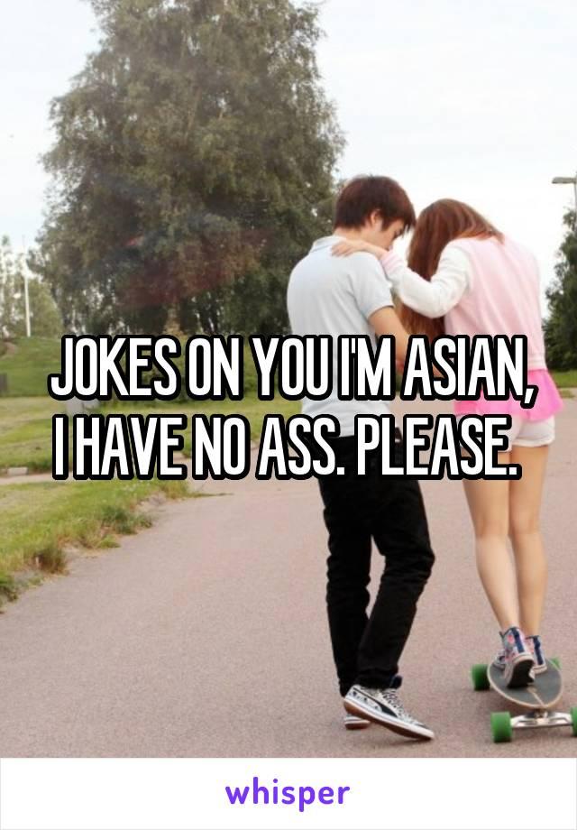 Asian dating jokes