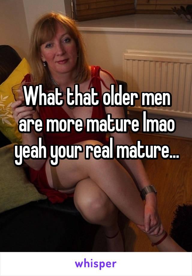 Real mature photos
