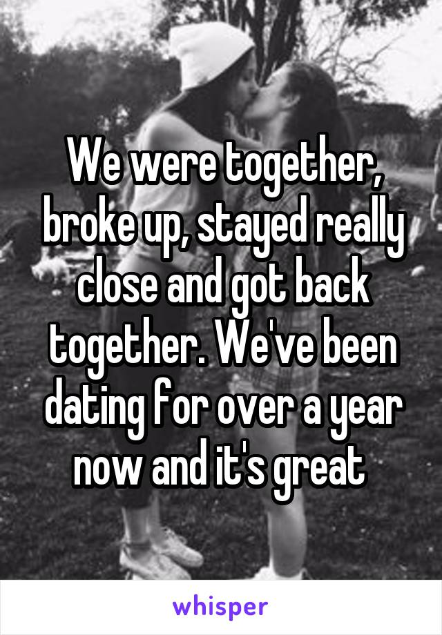 17 People Reveal What Happened After They Got Back Together