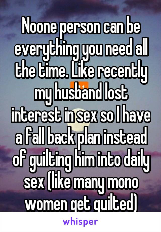 Husband Lost To Interest Seems Have My