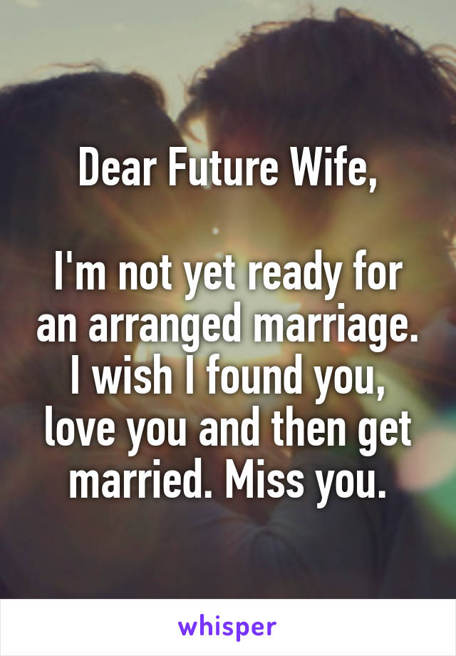 Miss not married