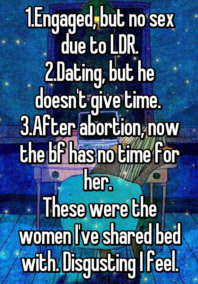Dating After Abortion