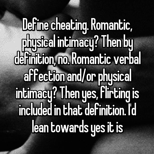 cheating definition