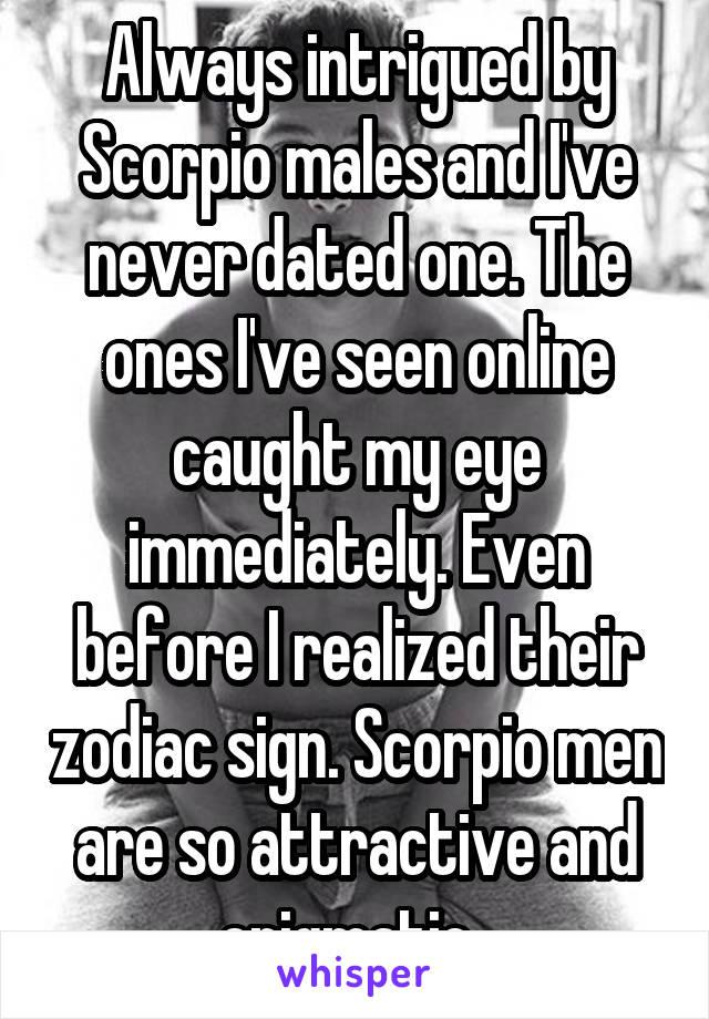 Scorpio males