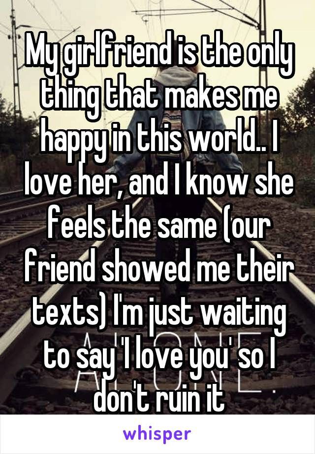 Your something to girlfriend tell 100+ sweet