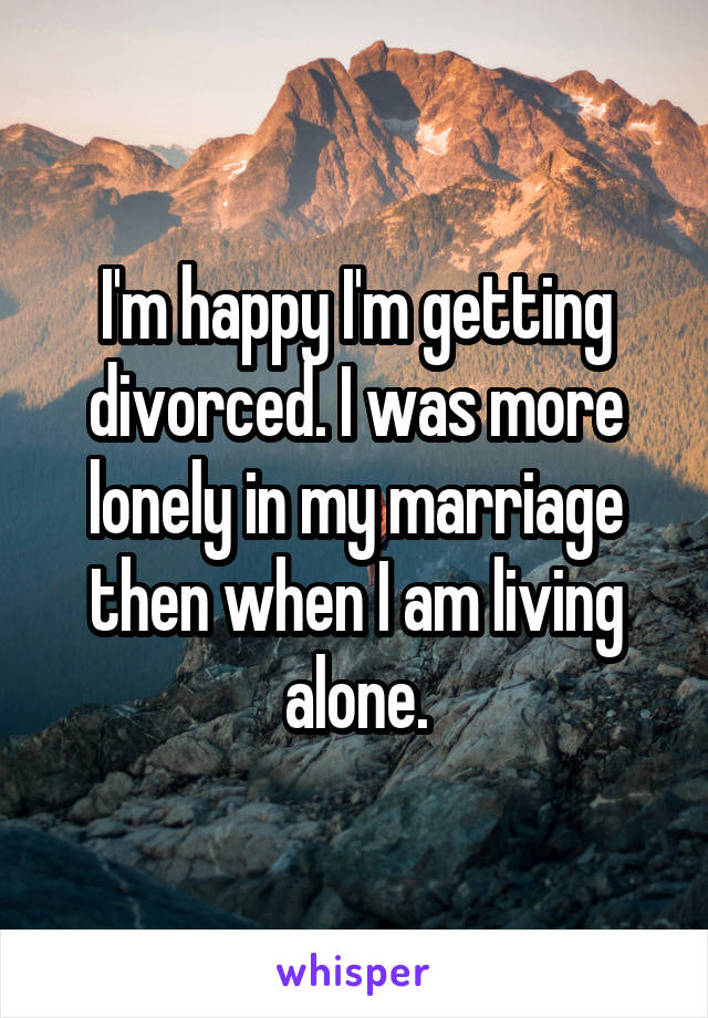 Living in a lonely marriage