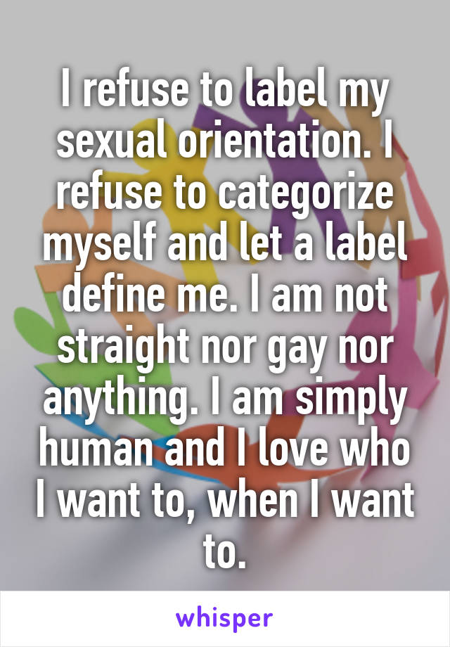 Define sexual orientation straight