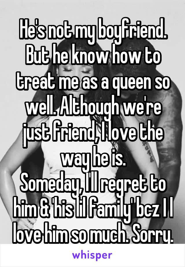 how can i treat my boyfriend