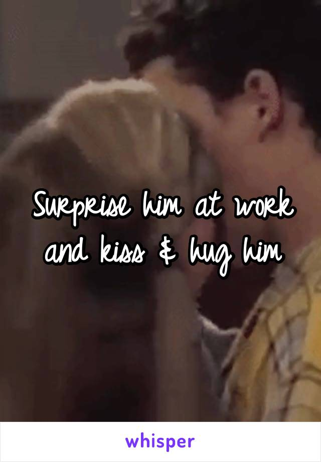 How To Surprise A Guy With A Kiss