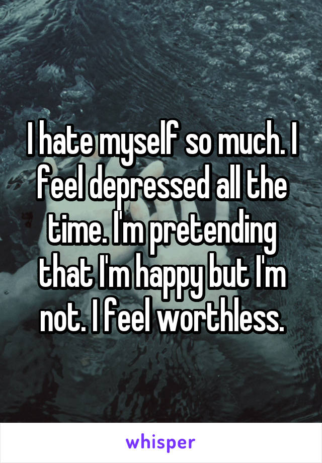 Pretending To Be Happy When Depressed