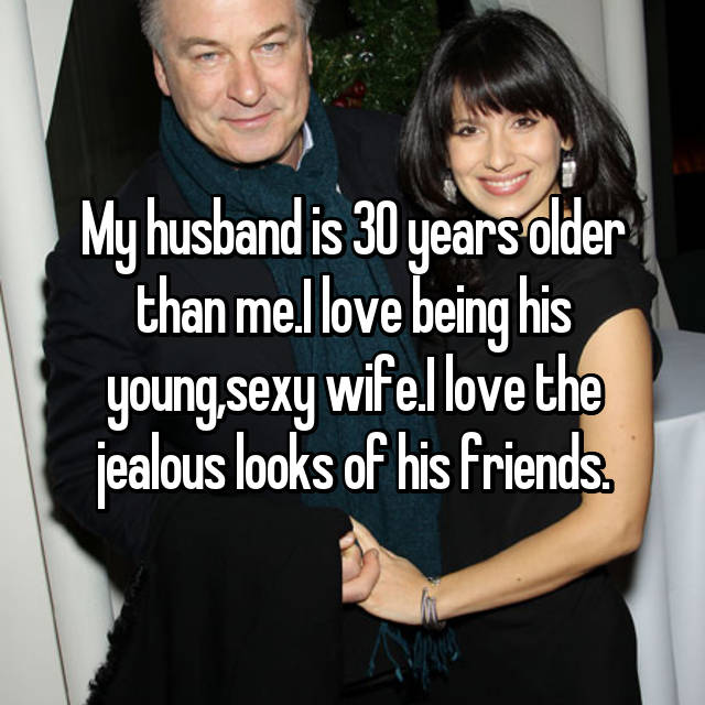 Me is older husband than years my 30 Real Love