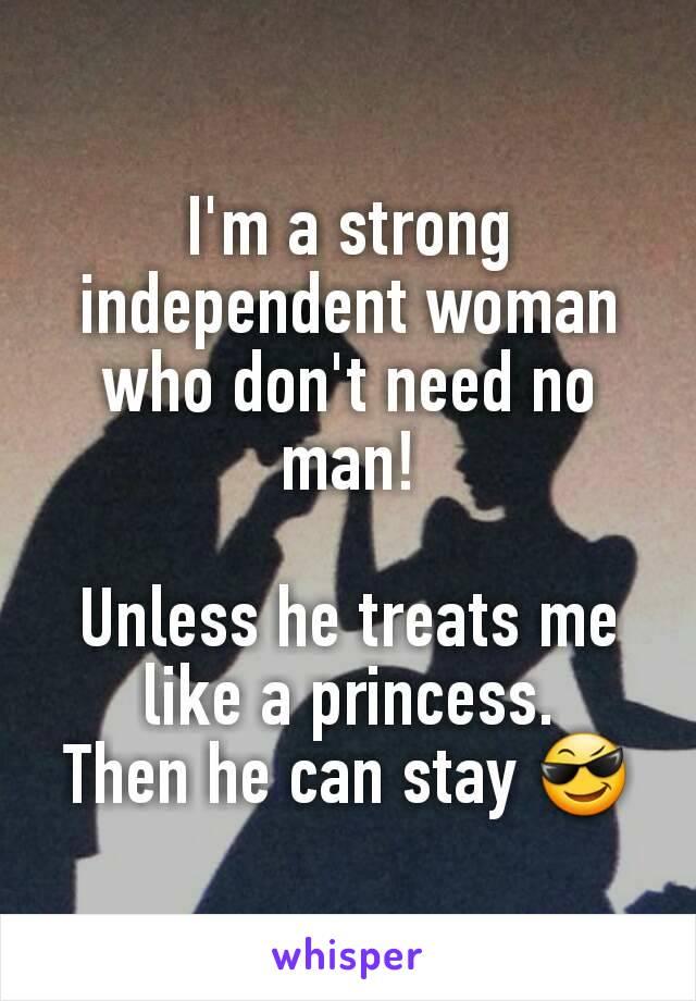 woman who need man