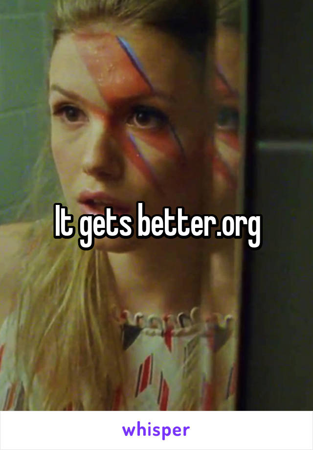 It gets better.org