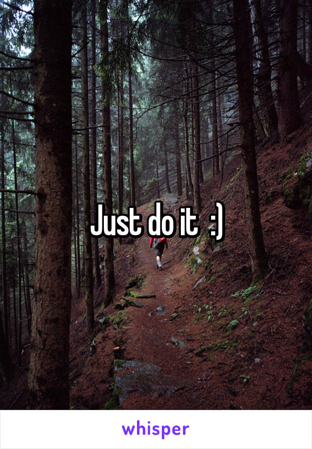 Just do it  :)