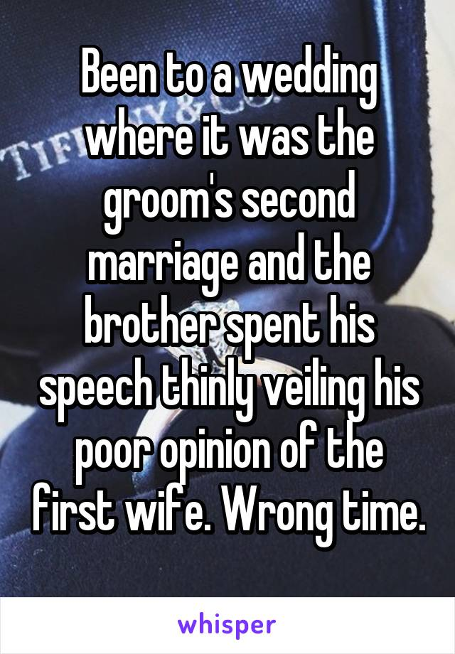 23 Best Men Who Didn't Hold Back During Their Wedding Toasts