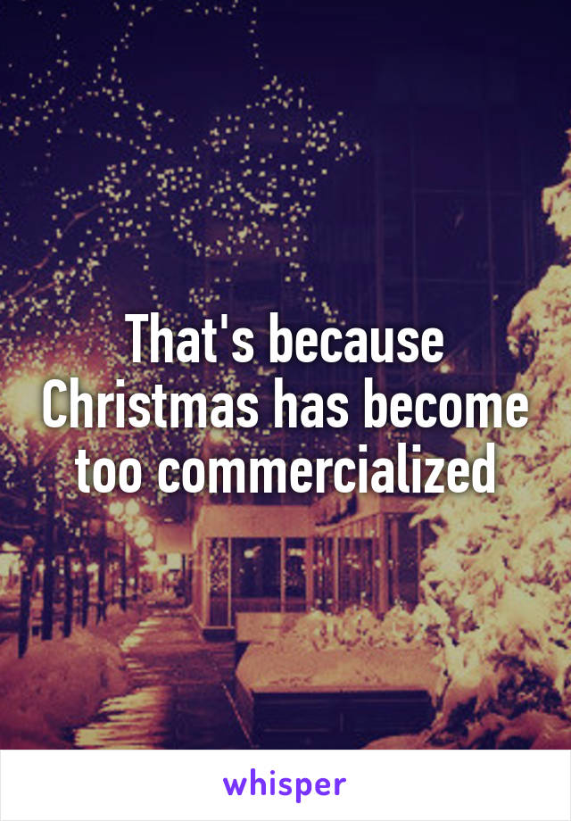 commercialization of santa claus