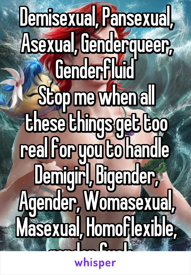 Homoflexible pansexual