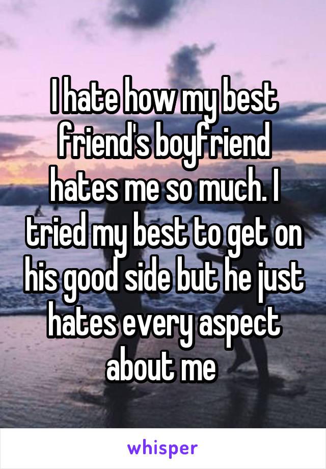 My Best Friend Hates My Boyfriend - Meme Painted