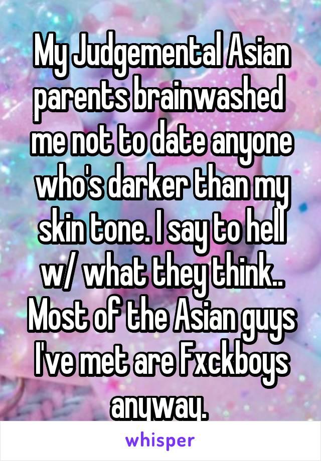 Dating judgemental