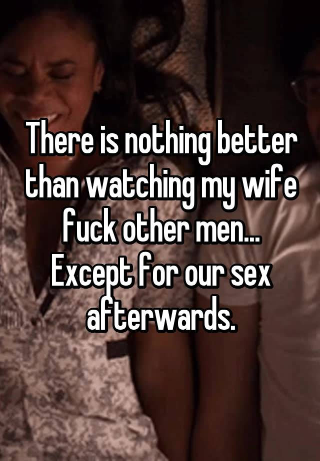 Men watches wife fuck others opinion